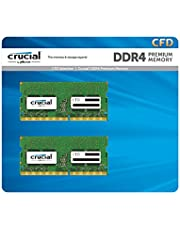 CFD販売 ノートPC用メモリ PC4-19200(DDR4-2400) 16GB×2枚 / 260pin / 無期限保証 / Crucial by Micron / W4N2400CM-16G