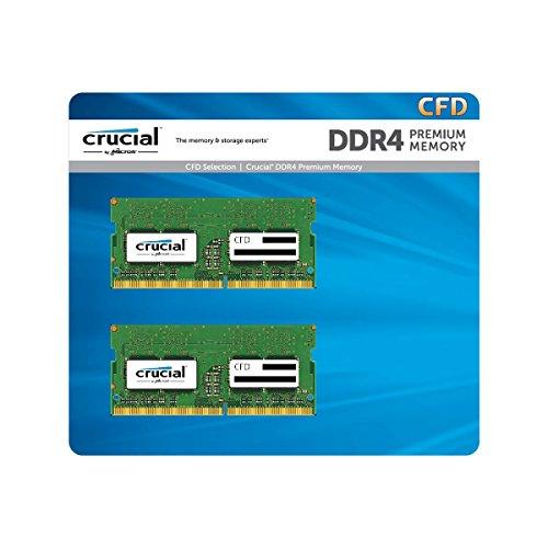 CFD販売 ノートPC用メモリ PC4-19200(DDR4-2400) 16GB×2枚 / 260pin / 無期限保証 / Crucial by Micron / W...