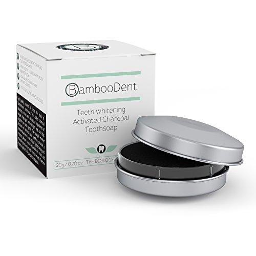 BambooDent - die natürliche Zahnseife | Kokosöl und Aktivkohle Zahnaufhellung | Xylit gegen Karies | Beinwell und Schachtelhalm Zahnmineralisierung | Hochwertige Öle | MADE IN GERMANY