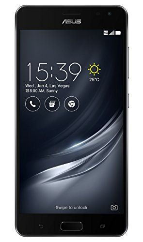 Asus ZenFone AR ZS571KL Smartphone (14,5 cm (5,7 Zoll) WQHD Touch-Display, 128GB Speicher, Android 7.0) schwarz