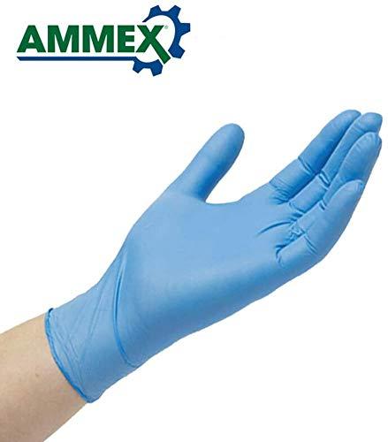 Nitril Handschoenen 100 Stks/partij Voedsel Grade Waterdichte Allergie Gratis Wegwerp Werk Veiligheid Handschoenen Nitril Handschoenen Mechanisch