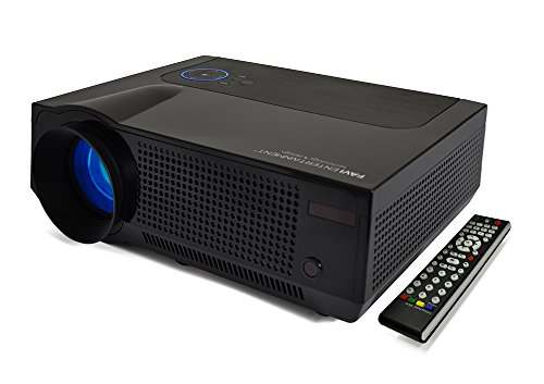 FAVI 4T Ultra-Bright LED LCD (HD 720p) Home Theater Projector - US Version (Includes Warranty) - Black (RIOHDLED4T-US3)