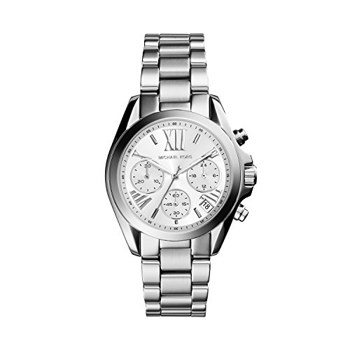 Michael Kors Reloj Cronógrafo para Mujer de Cuarzo con Correa en Acero Inoxidable MK6174