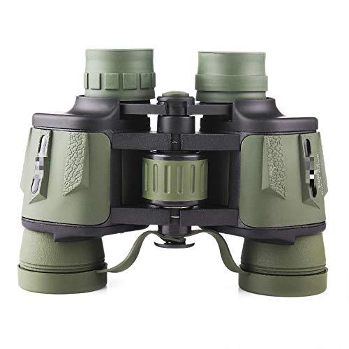 Binoculares 8X40 Telescopio Profesional Zoom Big Clear LLL Visin Nocturna Binoculares Impermeables Verde