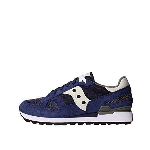 Saucony Shadow Original, Sneaker Uomo, Multicolore (Blue/Grey), 43 EU