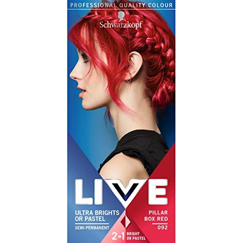 LIVE Color XXL 92 Pillar Box Red Ultra Brights