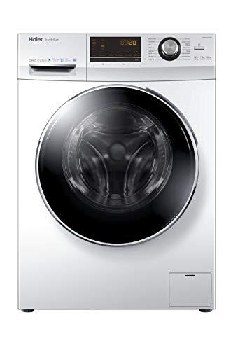 Haier HW80-B14636 Waschmaschine Frontlader / 1400 UpM / 8 kg / super leiser Direktantrieb / Vollwasserschutz