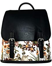 galante Flora è uno zaino di colore nero di medie dimensioni, trendy e comodo. Ottimo compagno di viaggio per donne indipendenti e pronte all'avventura