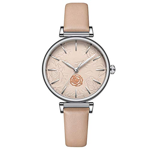 Eantpure Militar Deportivo Analógico,Reloj con cinturón, Moda, Casual, Reloj de Mujer-A,Fashion Business Watch