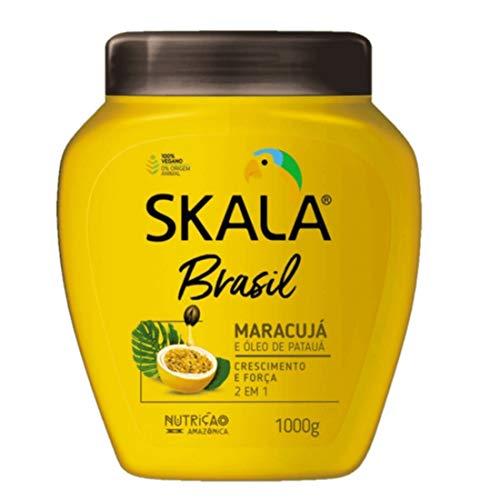 Skala Brasil スカラブラジル パッションフルーツ&パタウアオイル オールヘア用 2イン1 トリートメントクリーム 1kg