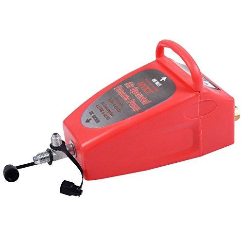 Goplus A/C Vacuum Pump, Pneumatic 4.2CFM Air Operated Vacuum Pump Air Conditioning System Tool Auto