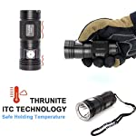 ThruNite TN4A LED Flashlight CREE XP-L V6 LED 1150 Lumen Waterproof AA LED Torch (Batteries not Included) NW 7