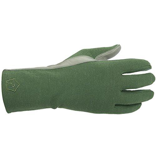 Pentagon Herren Long Cuff Pilot Handschuhe Oliv Größe L