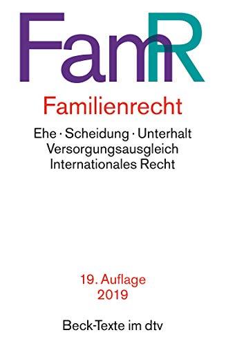 Familienrecht (Beck-Texte im dtv)