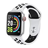W34 Pro Fit Series 5 - Smart Watch with Calling Feature/Fitness Band/ECG Monitor/Activity Tracker/Full Touch Colored Display/Heart Rate Sensor/Notification Alert/Camera Control (White) activity tracker with heart monitor Dec, 2020