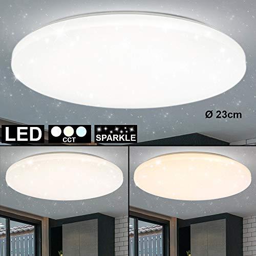 LED Decken Lampe Sternen Effekt Wohn Arbeits Zimmer Beleuchtung Tageslicht Leuchte weiß