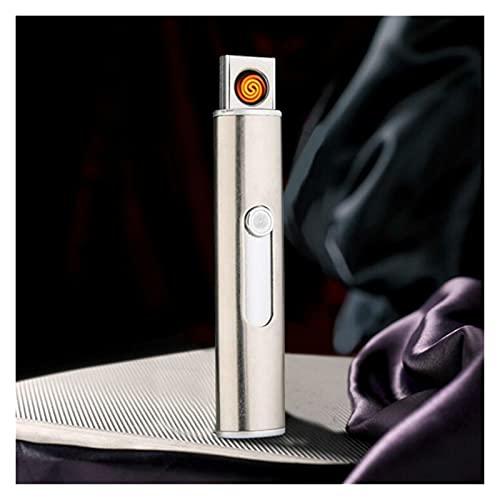 ゴールドクリッパーキッチンの試合 USB電荷ウインドブレイク電気軽量電子点煙探知機クリエイティブ