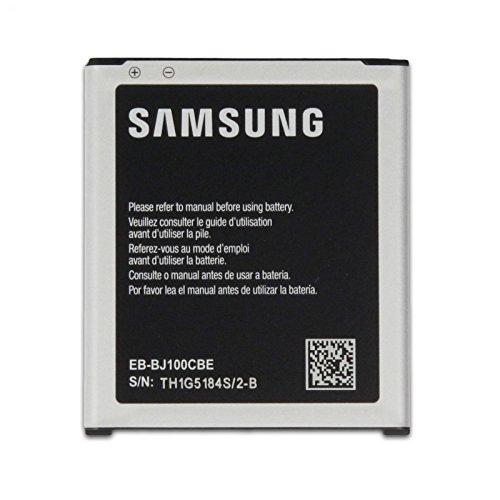 SAMSUNG EB-BJ100CBE - Batteria Originale da 1850 mAh, 7,13 Wh per Galaxy J1 J100