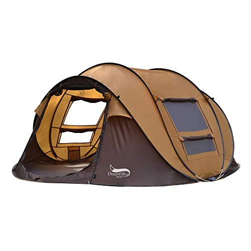 Kids Tent, protection outdoor tent tent portable tent 3-4 person family tent waterproofing, ventilation and durable family camping fashion