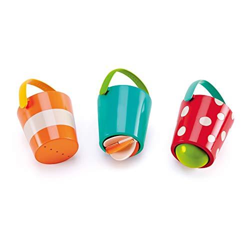 Hape- Juguete baño bebé Cubos alegres