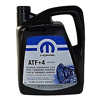 Genuine Chrysler Accessories  5013458AA   68218058AC  ATF+4 Automatic Transmission Fluid - 1.3 Gallon / 5 Liter