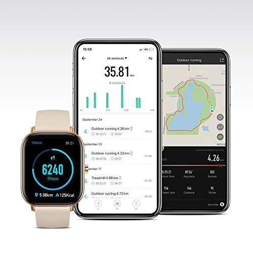 Huami Amazfit GTS Smart Watch(Desert Gold)