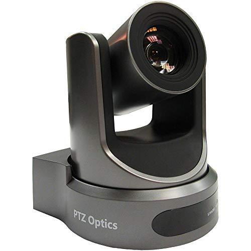 PTZOptics 30X Zoom óptico, 3G-Sdi, Hdmi, Cvbs, IP Streaming 1920 x 1080P, 60.7 grados Fov (gris)