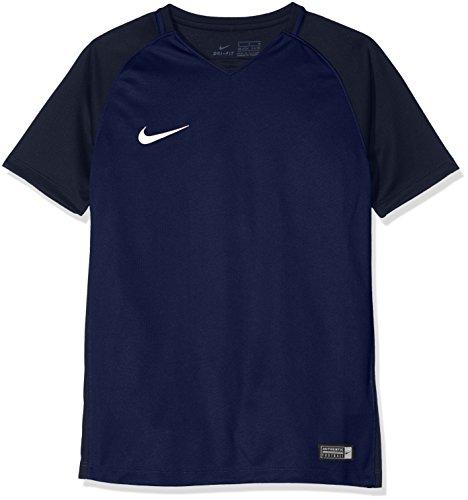 Nike Kinder Trophy Iii Jersey Youth Shortsleeve Trikot , Blau (midnight navy/dark obsidian/dark obsidian/white) , S