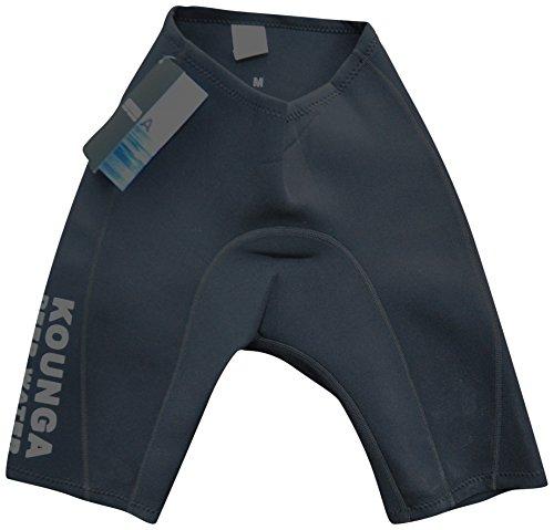 Kounga DW Pantalones Cortos de Neoprenos de 2MM, Hombre, Negro, M