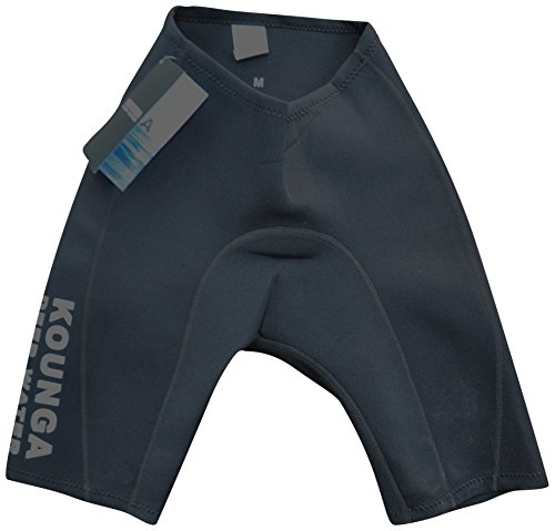 Kounga DW Pantalones Cortos de Neoprenos de 2MM, Hombre, Negro, 2XL