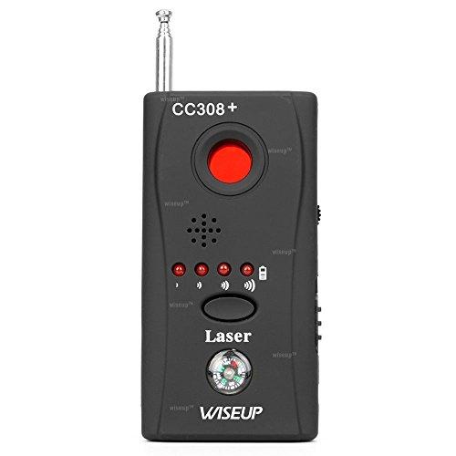 WISEUP Draagbare Anti Spy Detector Draadloze Camera RF Signaaldetector GSM Bug Device Finder