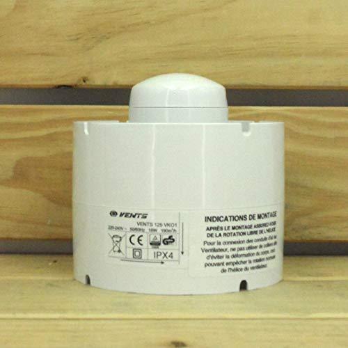 Extractor de aire en línea Helicoidal Vents VKO1 190 m³/h (125mm)