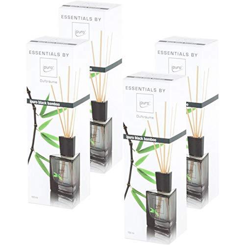 Essentials by Ipuro black bamboo 100ml (4er pack)