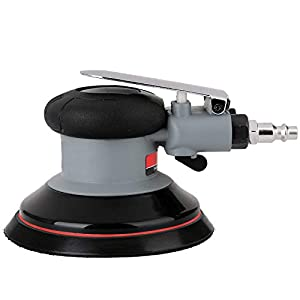 "Valianto Air Random Orbital Sander 5"" Dual Action Palm Sander, 2.5mm Eccentricity Pneumatic Sander Lightweight and Low Vibration With Speed regulation"