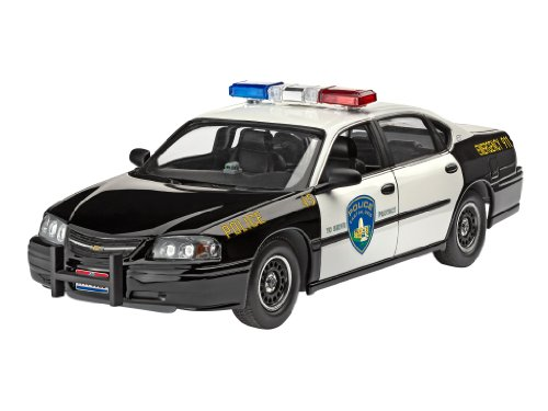 Revell Modellbau 07068 - Chevy Impala Police Car im Maßstab 1:25