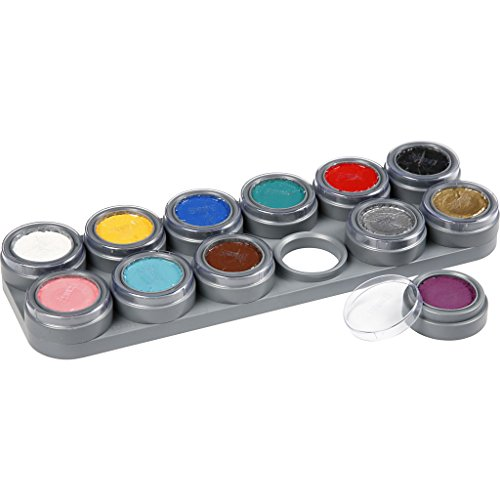 Grimas 12 Colour Face Painting Palette A (struts-6014) (maquillaje/pintura de cara)
