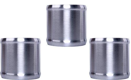 HiwowSport Straight 4 Length Alloy Aluminum Intake Tube Aluminum Hose Adapter OD 2.0