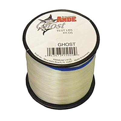 Ande G14-50C Ghost Monofilament Fishing Line, 1/4-Pound Spool, 50-Pound Test, Clear Finish