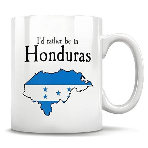 N\A Honduras Geschenk, Honduras Becher, Tegucigalpa Honduras, Honduras Karte, Honduras Souvenir, Honduras Stolz, Honduranische Flagge, Ideales Honduras, 11oz