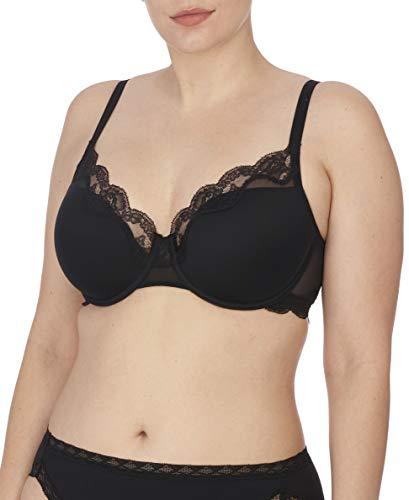 Natori Women's Elusive Full Fit Contour Underwire Bra, Black, 34D