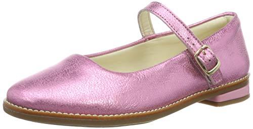 Clarks Mädchen Drew Sky K Riemchenballerinas, Pink (Pink Sparkle Lea Pink Sparkle Lea), 32 EU