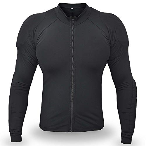 WICKED STOCK Underdog Protective Riding Shirt Armored CE Level 1 Black Large