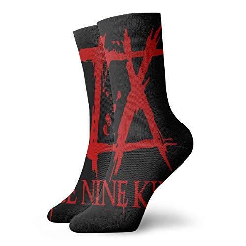 DorothyCGarza Ice Nine Kills Crew Socks Comfortable and Breathable Winter Socks Socks for Men and Women Socks