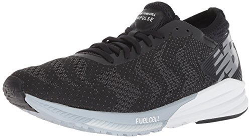 New Balance Men's FuelCell Impulse V1 Running Shoe, Black, 11.5 D US