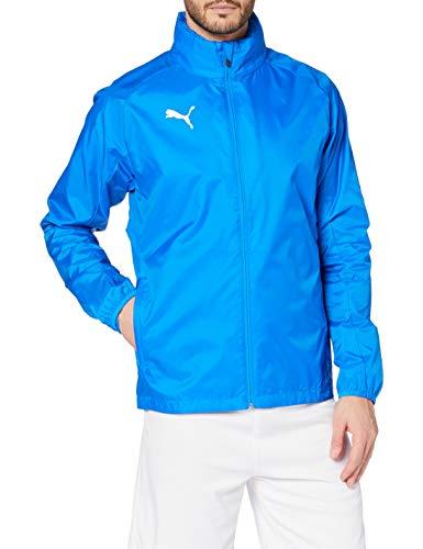 PUMA Herren Training Rain Jacket LIGA Core, Electric Blue Lemonade/PUMA white, M, 655304
