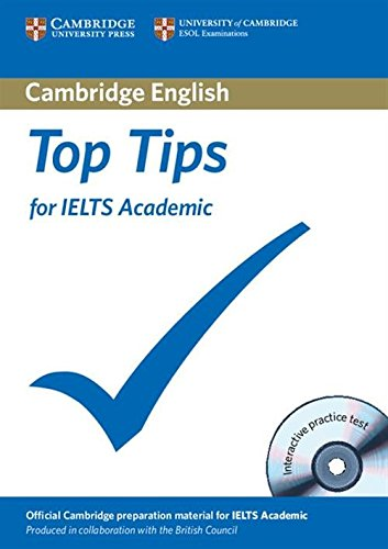 Top Tips for Ielts Academic Paperback [With CDROM]