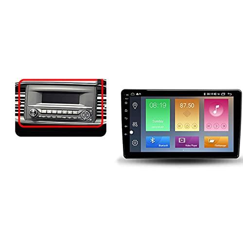 Android 10.0 Car Stereo 2 DIN In-Dash Radio para Peugeot 308 2013-2017 Navegación GPS 9 '' Unidad Principal Reproductor Multimedia MP5 Receptor de Video con 4G / 5G WiFi Carplay