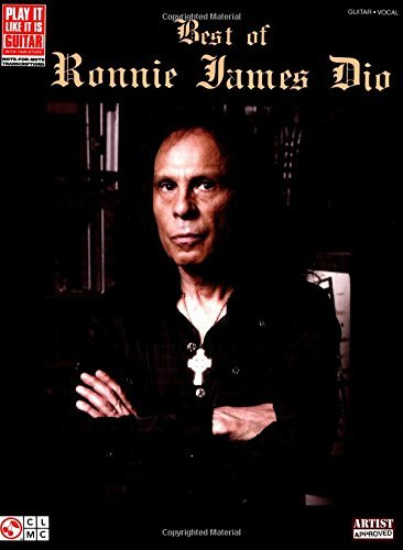 Best of Ronnie James Dio Songbook (Play It Like It Is Guitar) (English Edition)