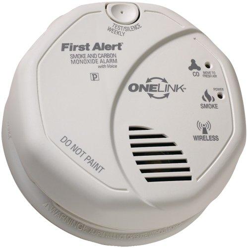 Fatsco501cn3st–First Alert Sco501cn-3st OneLink à piles Combinaison fumée détecteur de monoxyde de carbone avec Voice emplacement