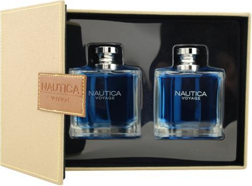 Nautica Voyage By Nautica For Men. Set-edt Spray 3.4-Ounce & Aftershave 3.4-Ounce